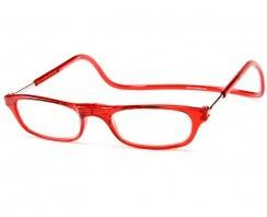 Clic Reader Glasses in Toffee Apple Red