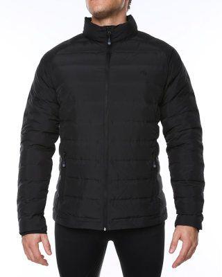 VIGI Aptitude Down Jacket Black Black Mens