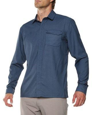 Vigi Quito LS Shirt Navy Mens