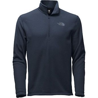 The North Face TKA 100 Glacier Fleece 1/4Zip in Urban Navy