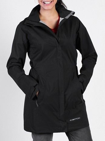 EXOF Rain Logic Trench Black W