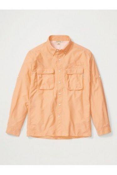 Exofficio Airstrip Long Sleeve Mens Shirt - Clementine