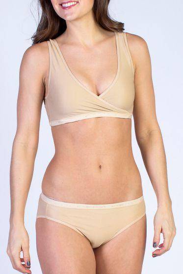 Exofficio Crossover bra in nude