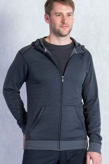 Exofficio Isoclime Full Zip Hoody in Black
