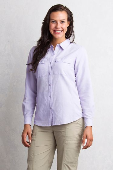 Exofficio Rotova Shirt in Lilac