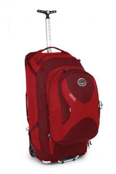 Osprey Ozone Convertible Roller Bag in Hoodoo Red