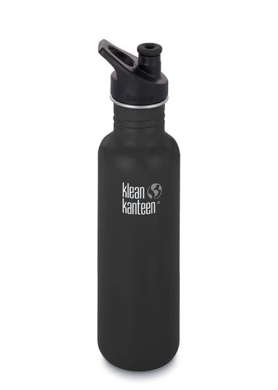 Klean Kanteen Stainless Steel Bottle black 800ml