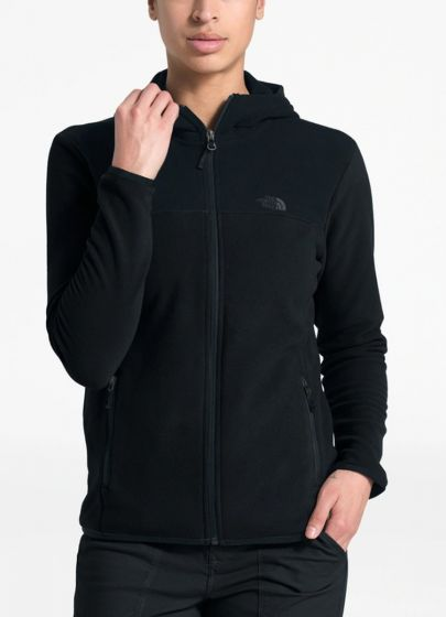 TNF TKA Glacier Full Zip Black Womens