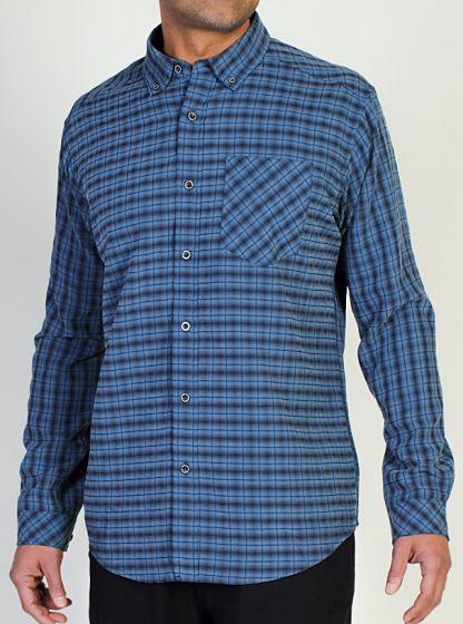 EXOF Pisco Plaid L/S Shirt Evening Mens