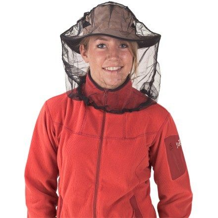 Mosquito Head net with Permethrin from Sea to Summit