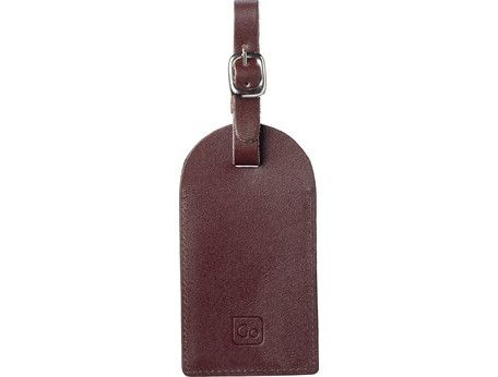 Go Label Leather Tag