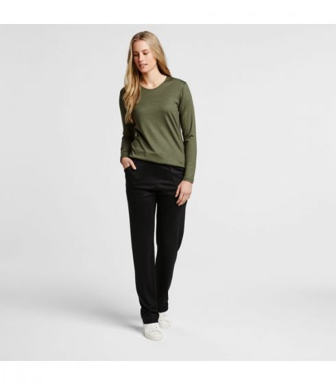 Merino Winter Roam Pant from Hedrena in black