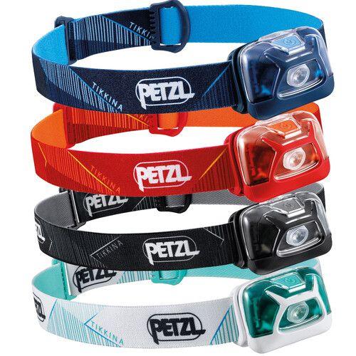 PETZL Tikkina Headlamps - Assorted Colours