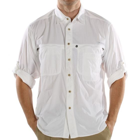 Exofficio Reef Runner l/s shirt White