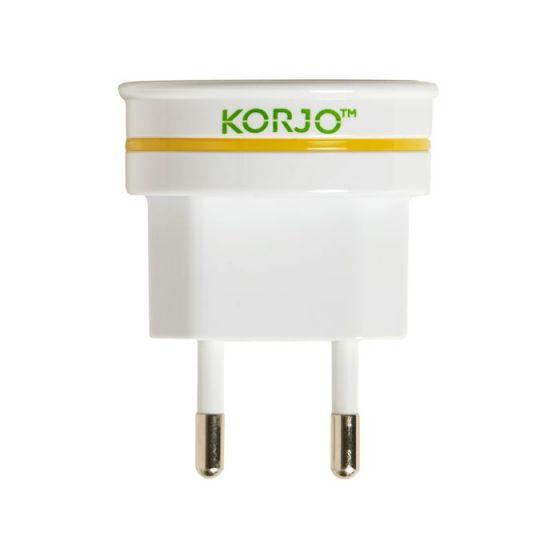 Korjo Adaptor Europe-Italy and Switzerland