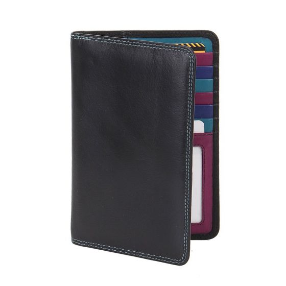 Zoom Adele Slim RFID Leather Passport Wallet