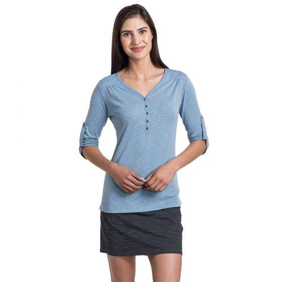 Kuhl Shasta 3/4 Sleeve in Bellflower blue