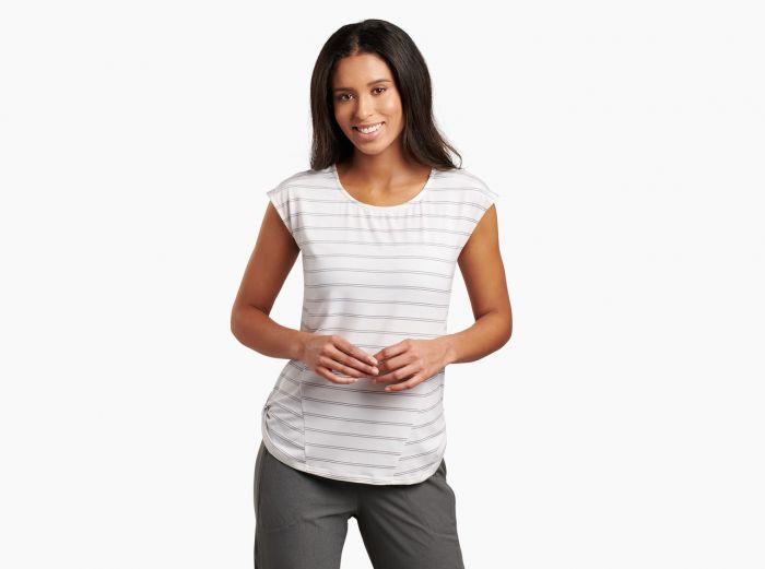 Kuhl Laurel short sleeve Tee in white