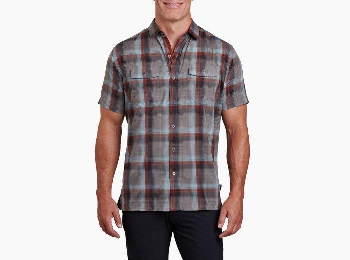 Kuhl Response Vintage Teal - Men's short sleeve shirt