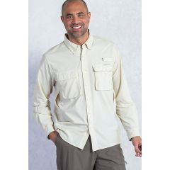 EXOF Airstrip L/S Shirt Mens Bone