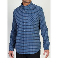 EXOF Pisco Plaid L/S Shirt Evening Mens