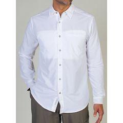 EXOF Trip L/S Shirt White Mens
