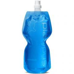 PLAT Soft Bottle W/ Push Pull Cap Blue 1L