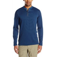 EXOF Isoclime Thermal Henley Mens Evening