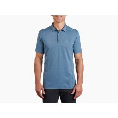 Kuhl Airkuhl Polo Shirt Marine Blue Mens