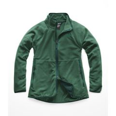 TNF Glacier Alpine Fzip Jacket Bot Green Hthr Womens