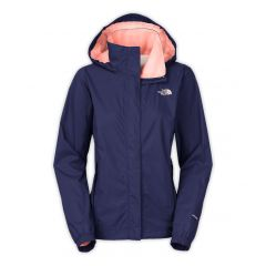 TNF Resolve Jacket Patriot Blue Womens