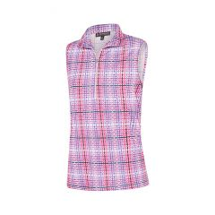 Birdee Check up Top Sleeveless Pink Womens