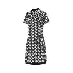 Birdee Swirl Stud Dress Short Sleeve Womens