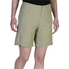 EXOF CANNISTA SHORT LT KHAKI Womens