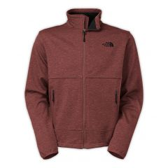 TNF Canyonwall JKT cherry brown htr M
