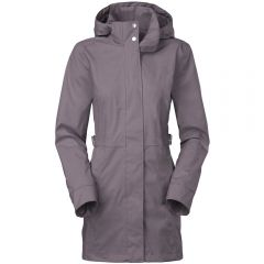 TNF Laney Trench Grey Melange Womens