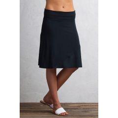 EXOF Wanderlux Convertible Skirt W Black