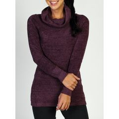 EXOF Irresistible Dolce Cowl Neck Womens