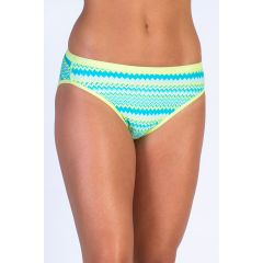EXOF Bikini Brief Printed Paradise Womens
