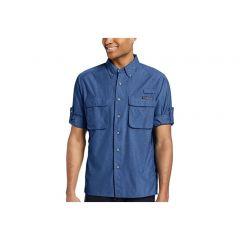 EXOF Airstrip L/S Galaxy Mens Shirt