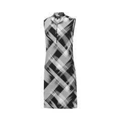 Birdee Geneva s/less dress Black/White Womens