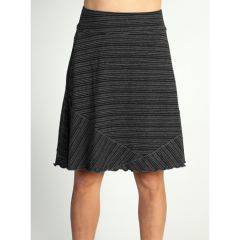 EXOF Go To Stripe Skirt Black/Char WXS