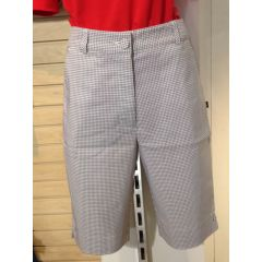 BIRD Check It Out Short Womens Silver Check
