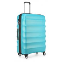 Antler Juno 4W Roller Case Large Teal Metal