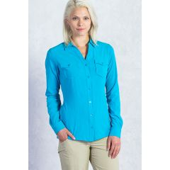EXOF Kizmet Shirt L/S Deep Sea Womens XS