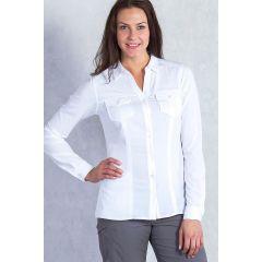 EXOF Kizmet Shirt L/S White Womens