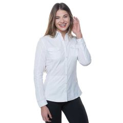Kuhl Glydr Shirt L/S White Womens