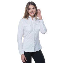 Kuhl Glydr Shirt L/S White Womens