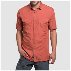 Kuhl Stealth Shirt s/s Red Clay Mens