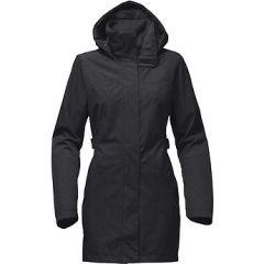 TNF Laney Trench ll Dark Grey Heath Womens